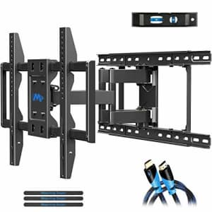 Mounting Dream TV Wall Mounts TV Bracket for 42-70 Inch TVs, Premium TV Mount, Full Motion TV Wall for $70