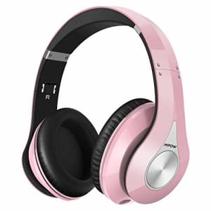 Mpow 059 Bluetooth Headphones Over Ear, Hifi Stereo Wireless Headset, Built-in Microphone, Soft for $48