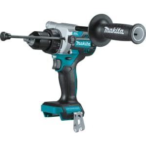 """Makita 18V LXT Lithium-Ion Brushless Cordless 1/2"""" Hammer Driver-Drill for $126"""