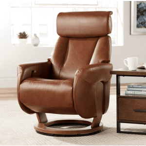 BenchMaster Augusta Faux Leather 4-Way Recliner for $650