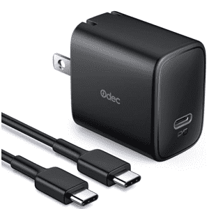 Odec iPhone Fast Charger with Type C Cable for $10