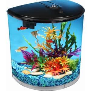 Koller 3.5-Gallon 180 View Aquarium for $28 in cart