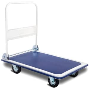 Costway 660-lbs. Folding Platform Dolly for $79