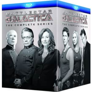 Battlestar Galactica Complete Series on Blu-Ray for $76