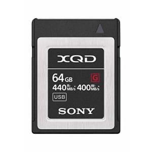 Sony Professional XQD G Series 64GB Memory Card (QD-G64F/J) for $100