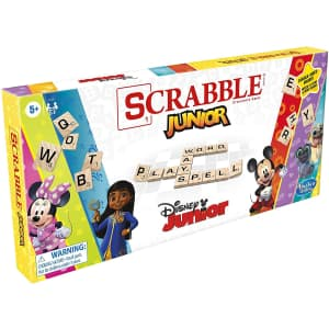 Hasbro Scrabble Junior: Disney Junior Edition for $16