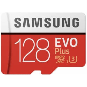 Samsung 128GB UHS-3 Class 10 micro SD Card for $19