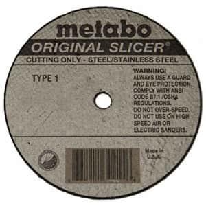 """Metabo 655323000 4"""" x 0.04 x 3/8 Original Slicer A60TZ, 50 pack for $99"""