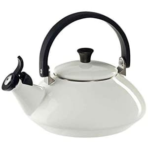 Le Creuset 1.6-Quart Enameled Steel Zen Tea Kettle for $57