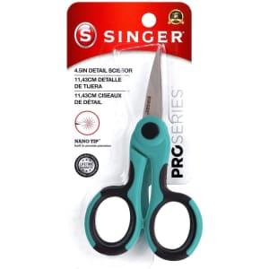 """Singer 4.5"""" ProSeries Detail Scissors with Nano Tip for $6"""