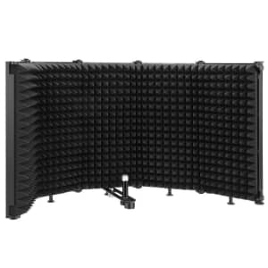 Moukey Microphone Isolation Shield for $32