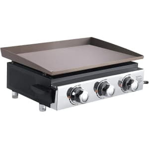 """23"""" Portable Tabletop Gas Griddle for $60"""
