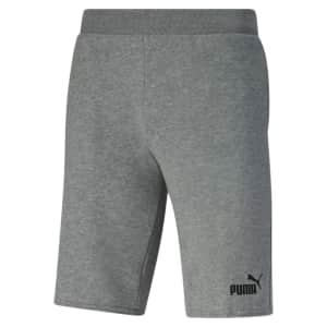 PUMA Men's Essentials+ Shorts for $10