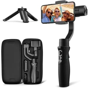 Hohem iSteady Mobile Plus 3-Axis Gimbal Stabilizer for $59
