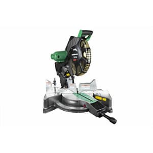 Metabo HPT 12-Inch Compound Miter Saw, Laser Marker System, Double Bevel, 15-Amp Motor, Tall for $249