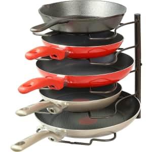 SimpleHouseware Pan/Pot Lid Organizer Rack for $16