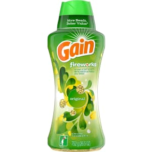 Gain Fireworks 26.5-oz. In-Wash Scent Booster Beads for $12 via Sub & Save
