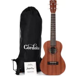 Cordoba Concert Ukulele Player Pack for $79 w/ $15 Bonus Bucks