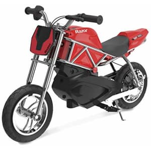 Razor RSF350 Electric Street Bike, Red/Black for $400