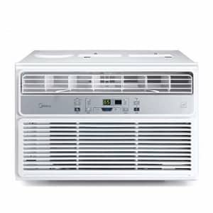 MIDEA EasyCool Window Air Conditioner - Cooling, Dehumidifier, Fan with remote control - 6,000 BTU, for $185