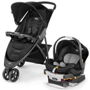 Chicco Viaro Quick-Fold Baby Travel System for $280 for members