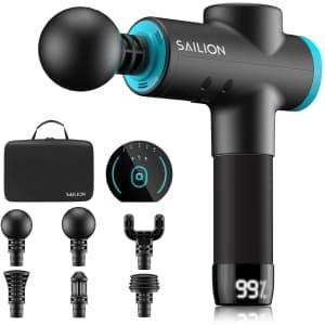 Sailion Portable Percussion Massager for $30