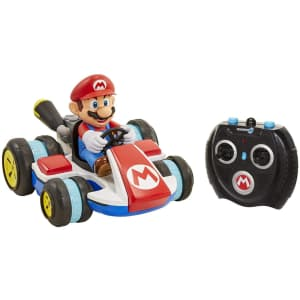 Nintendo Super Mario Kart 8 Mario Anti-Gravity Mini 2.4GHz RC Racer for $37
