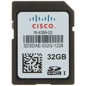 Cisco Flash Memory Card - 32 GB - SD - for Ucs C460 M4 Rack Server (UCS-SD-32G-S=) for $120