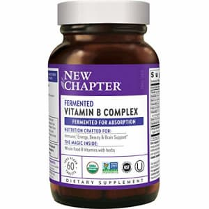 New Chapter Vitamin B Complex, Fermented Vitamin B Complex, ONE Daily with Whole-Food Herbs + for $33