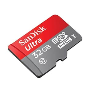 Professional Ultra SanDisk 32GB MicroSDHC Garmin nuvi 205W card is custom formatted for high speed, for $8