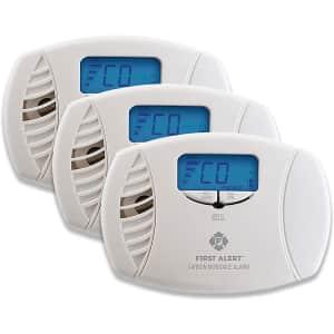 First Alert Carbon Monoxide Detector Alarm for $119
