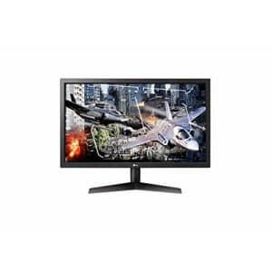 "LG 24LG 24"" 1920x1080 Gaming Monitor, 24GL65B-B for $200"
