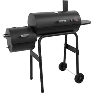 Char-Broil American Gourmet Offset Smoker for $100