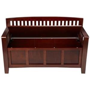 Linon Home Decor Cynthia Storage Bench for $97...or less