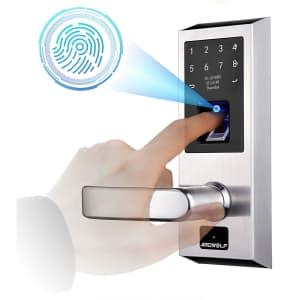 Ardwolf Keyless Fingerprint Smart Door Lock for $170