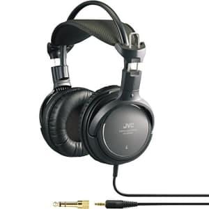 JVC HARX900 High-Grade Full-Size Headphone,Black for $82