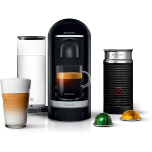 Breville Nespresso VertuoPlus Deluxe Coffee and Espresso Maker w/ Frother for $206