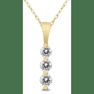 Szul Three Stone Diamond Jewelry Closeout Sale: from $110