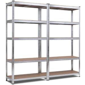Costway 2-Piece Utility Shelves from $130
