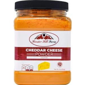 Hoosier Hill Farm Cheddar Cheese Powder 1-lb. Jar for $12