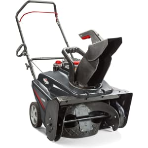 """Briggs & Stratton 22"""" Single-Stage Snow Blower with Quick Adjust Chute Deflector for $365"""