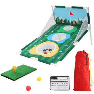 Pootiuo Golf Corn Hole Game w/ Baffle (New Version) for $50