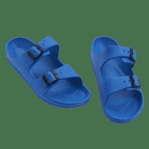 Aeropostale Men's Double-Strap Foam Slide Sandals for $8