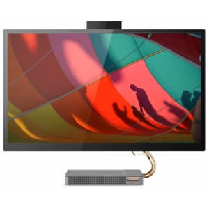 """Lenovo IdeaCenter AIO 5i 10th Gen i5 27"""" IPS Touch All-in-One Desktop PC for $850"""