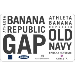 $50 Gap Digital Gift Card: $40 for members