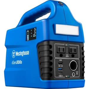 Westinghouse 296Wh Portable Power Station/Generator for $233