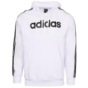 adidas Men's Essential 3-Stripe Logo Hoodie for $20