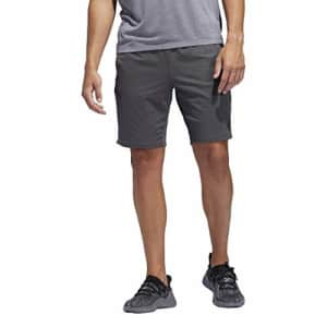 adidas Men's 4KRFT Sport Ultimate 9-Inch Training Shorts, Grey, Large for $55