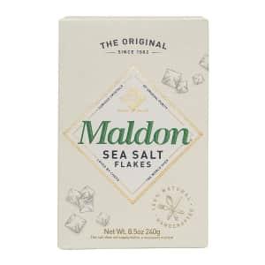 Maldon Sea Salt Flakes 8.5-oz Box for $5