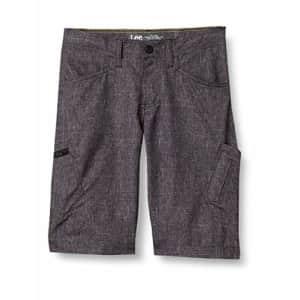 Lee Jeans Lee Boys' Little Dungarees Grafton Cargo Short, Gray Heather, 6 Regular for $20